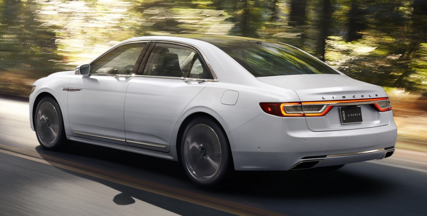 2017 Lincoln Continental exudes luxury in Detroit Image #427695
