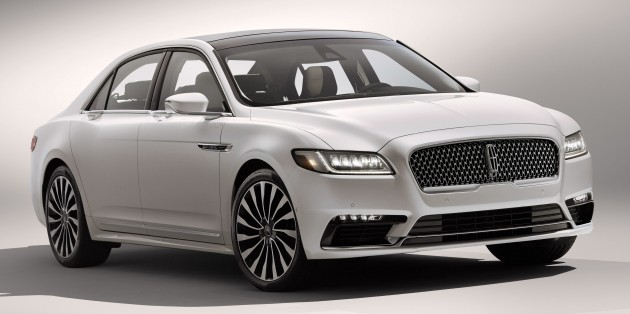 2017 Lincoln Continental Exudes Luxury In Detroit