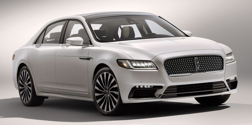 2017 Lincoln Continental exudes luxury in Detroit Image #427696