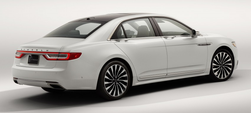 2017 Lincoln Continental exudes luxury in Detroit Image #427698