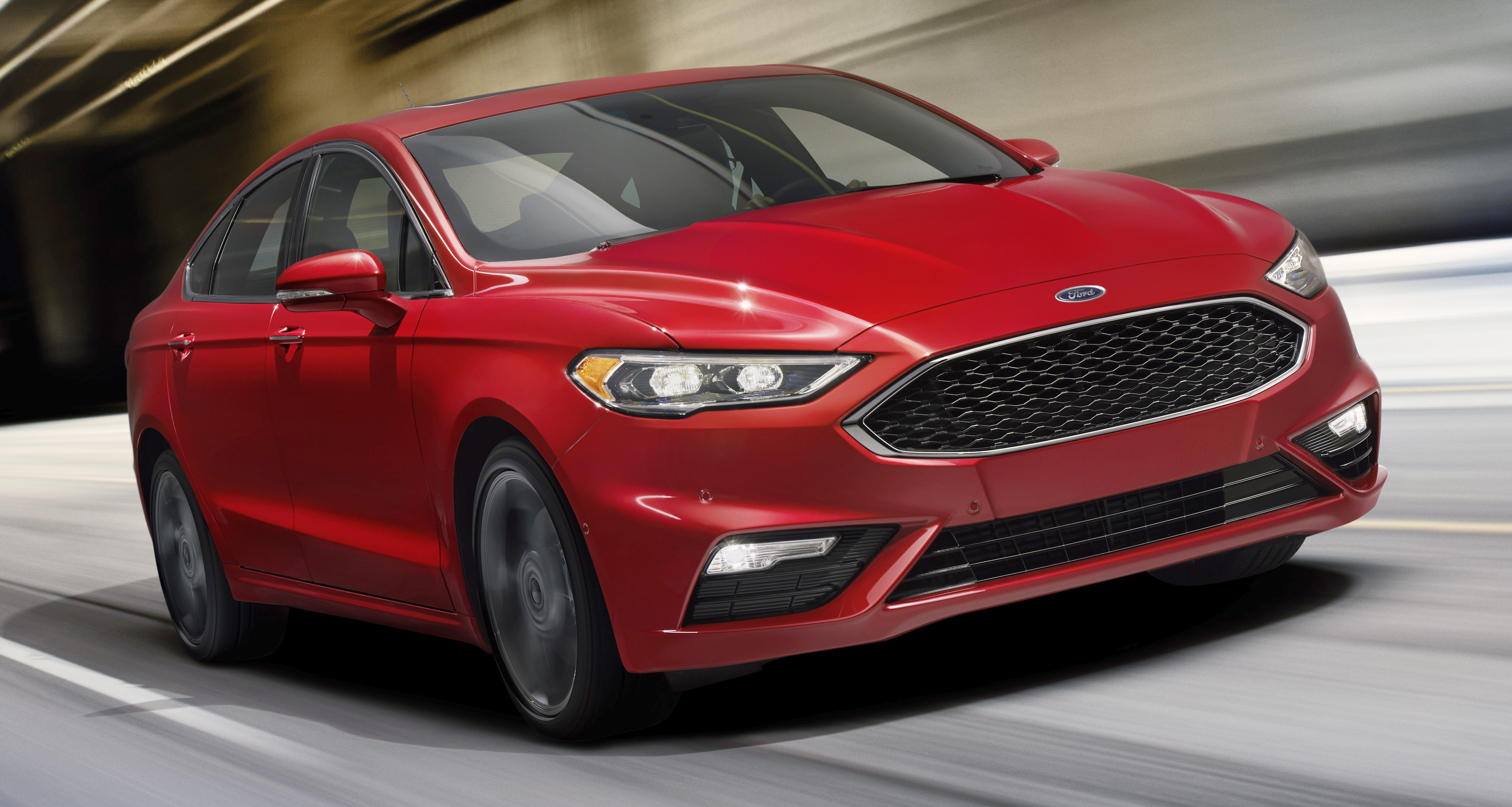 2017 ford fusion facelift debuts 2 7l twin turbo fusion v6 sport and two hybrids lead the new. Black Bedroom Furniture Sets. Home Design Ideas