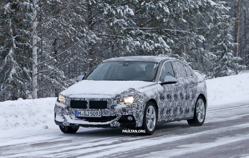 SPIED: F52 BMW 1 Series spotted in the wild, again Image #435217