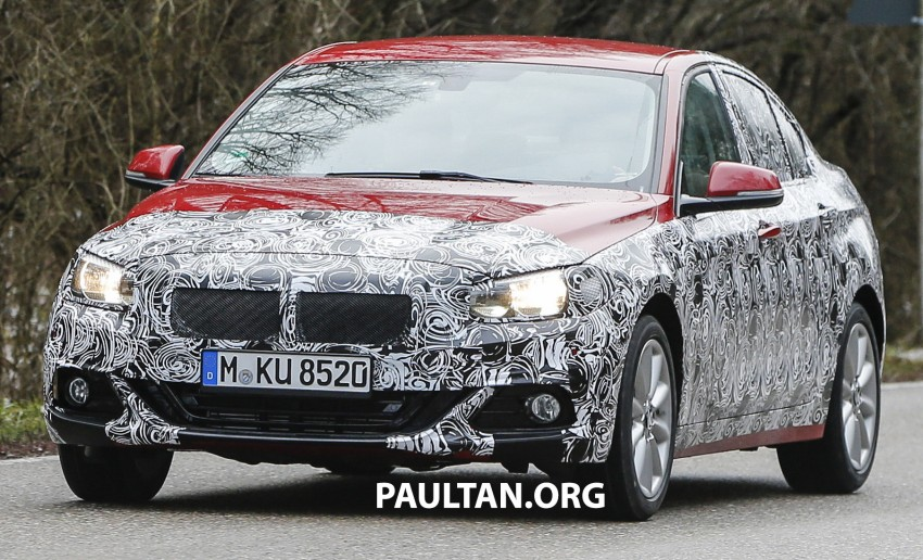 SPIED: F52 BMW 1 Series spotted in the wild, again Image #435052