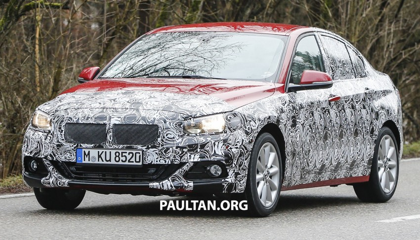 SPIED: F52 BMW 1 Series spotted in the wild, again Image #435054