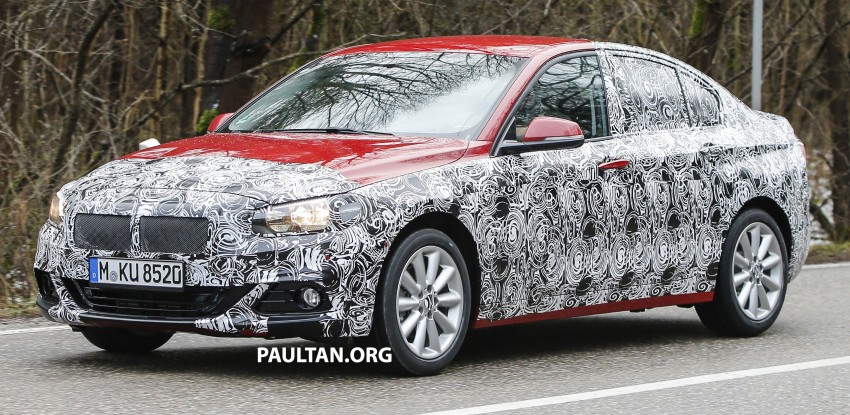 SPIED: F52 BMW 1 Series spotted in the wild, again Image #435056