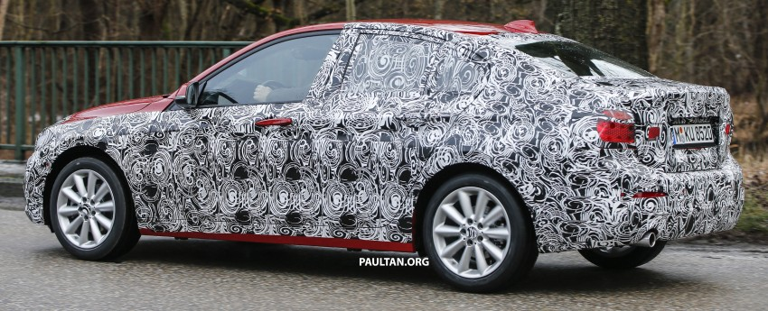 SPIED: F52 BMW 1 Series spotted in the wild, again Image #435048