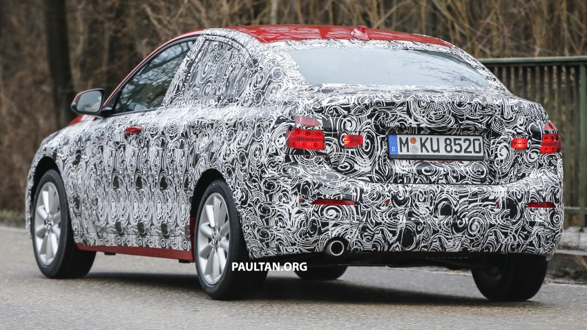 SPIED: F52 BMW 1 Series spotted in the wild, again Image #435051