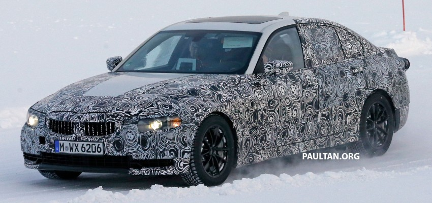 SPIED: 2018 G20 BMW 3 Series heads out for testing Image #431690