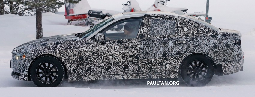 SPIED: 2018 G20 BMW 3 Series heads out for testing Image #431692