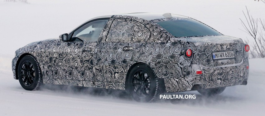 SPIED: 2018 G20 BMW 3 Series heads out for testing Image #431693