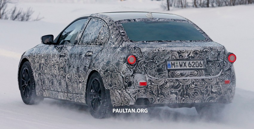 SPIED: 2018 G20 BMW 3 Series heads out for testing Image #431694
