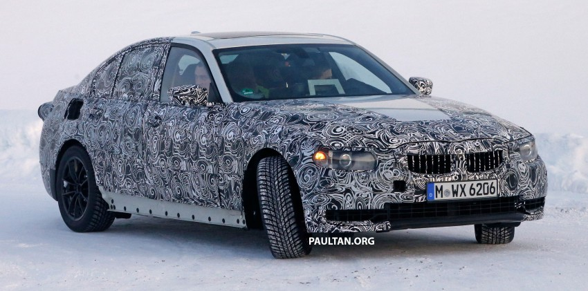 SPIED: 2018 G20 BMW 3 Series heads out for testing Image #431682