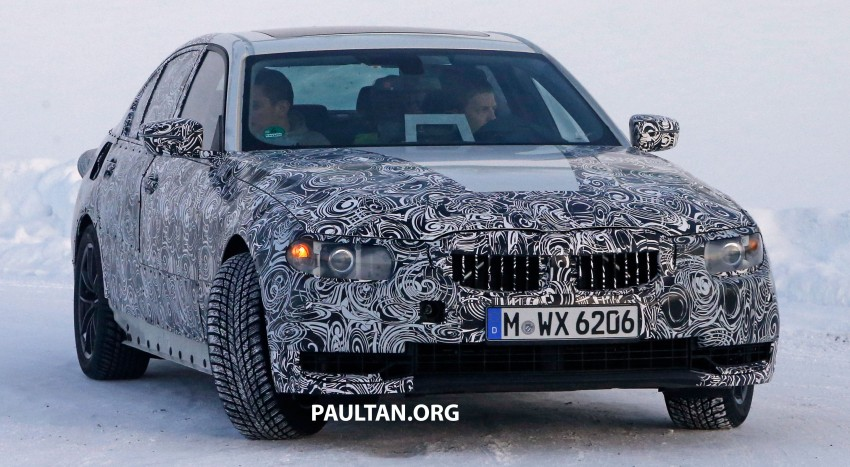 SPIED: 2018 G20 BMW 3 Series heads out for testing Image #431683