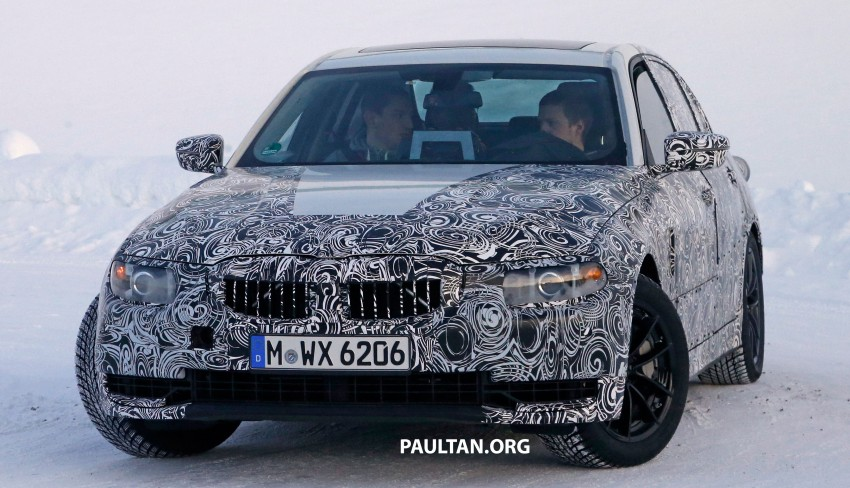 SPIED: 2018 G20 BMW 3 Series heads out for testing Image #431685