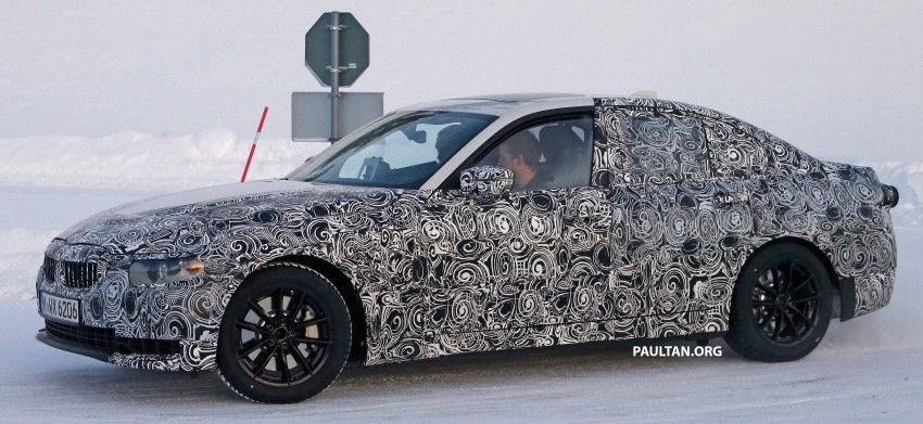 SPIED: 2018 G20 BMW 3 Series heads out for testing Image #431686