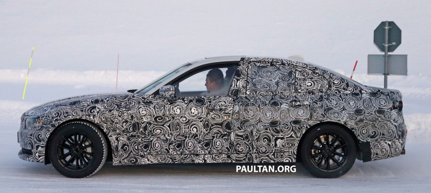 SPIED: 2018 G20 BMW 3 Series heads out for testing Image #431687