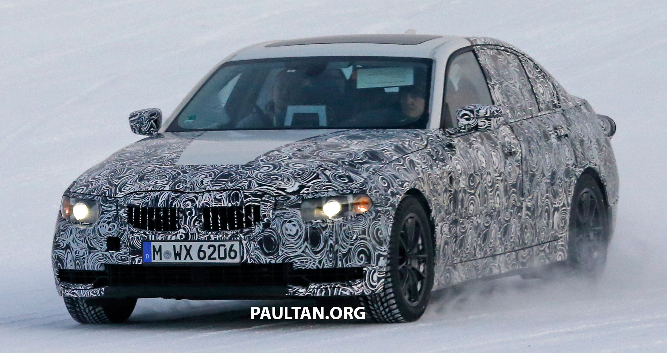 Back to Story: SPIED: 2018 G20 BMW 3 Series heads out for testing