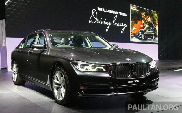 BMW 740Li Grey
