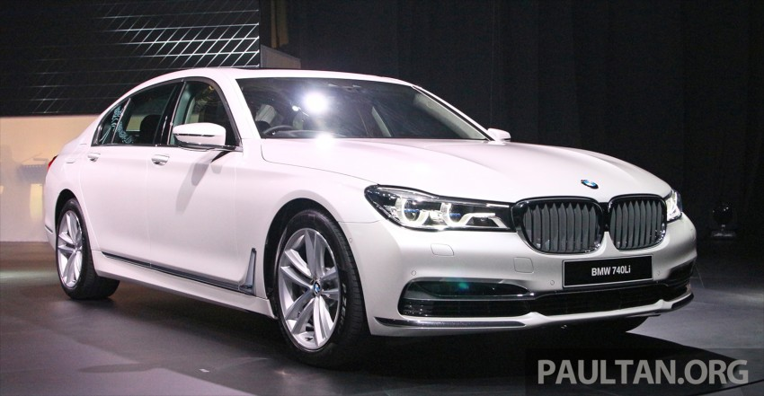New G11 BMW 7 Series launched in Malaysia – 2.0 turbo 4cyl 730Li and 740Li, from RM599k Image #436068