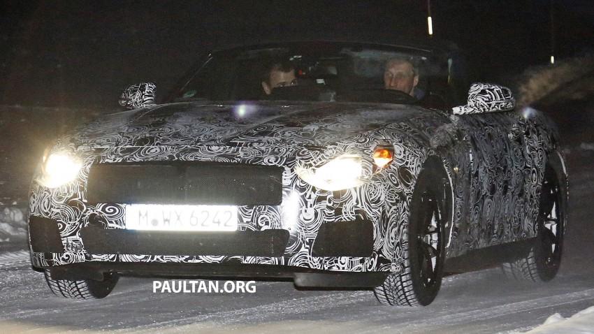 """SPYSHOTS: BMW """"Z5"""" to spawn next Toyota Supra? Image #430916"""