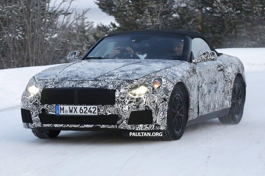 """SPYSHOTS: BMW """"Z5"""" to spawn next Toyota Supra? Image #431463"""