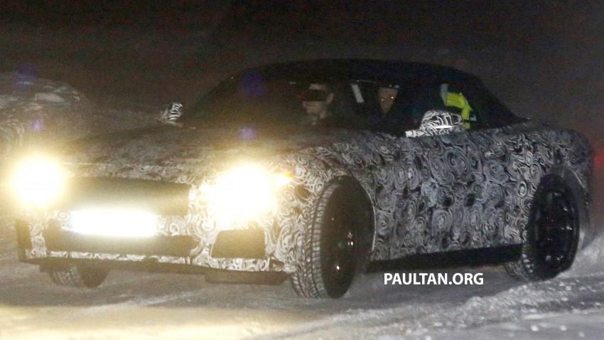 """SPYSHOTS: BMW """"Z5"""" to spawn next Toyota Supra? Image #430921"""