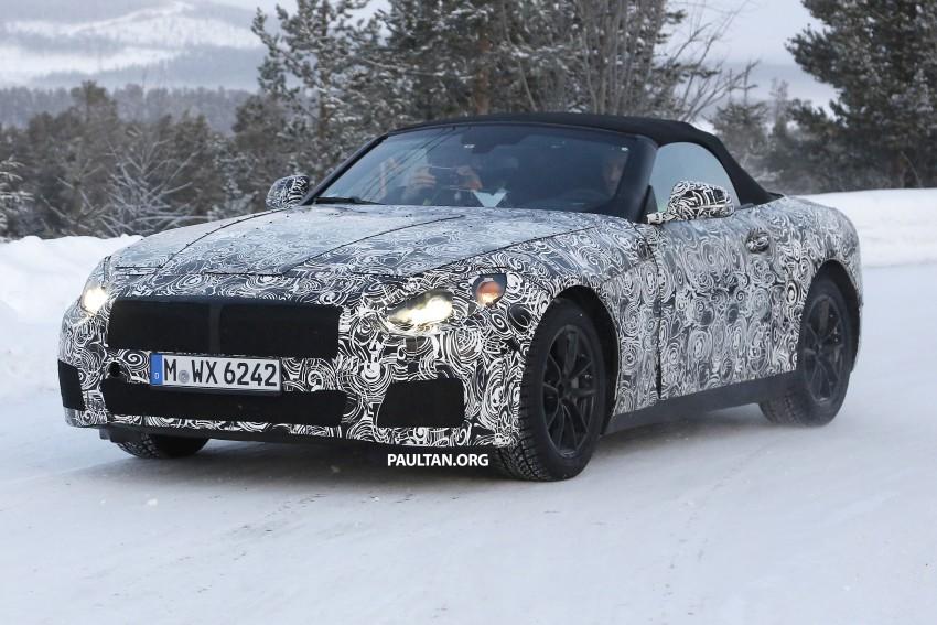 """SPYSHOTS: BMW """"Z5"""" to spawn next Toyota Supra? Image #431461"""