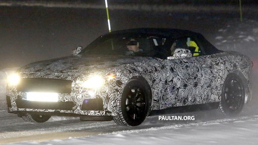 """SPYSHOTS: BMW """"Z5"""" to spawn next Toyota Supra? Image #430922"""