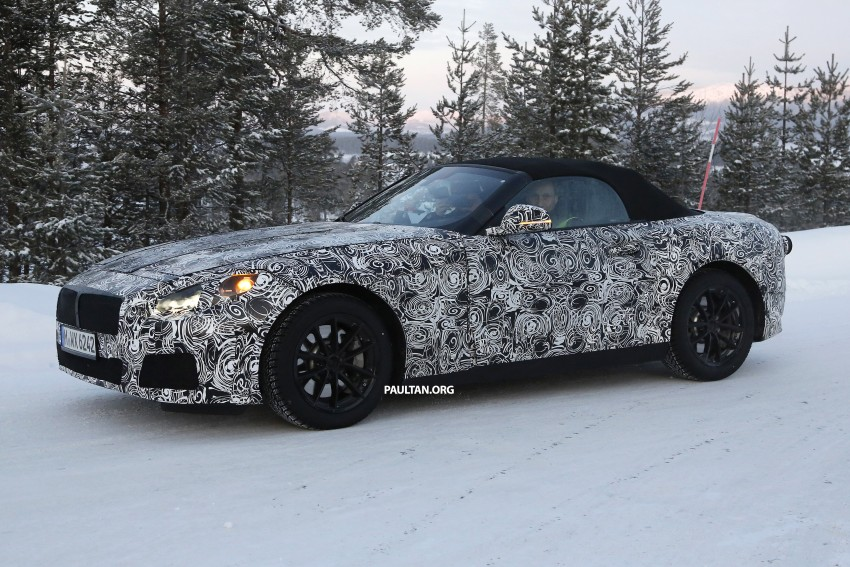"SPYSHOTS: BMW ""Z5"" to spawn next Toyota Supra? Image #431459"