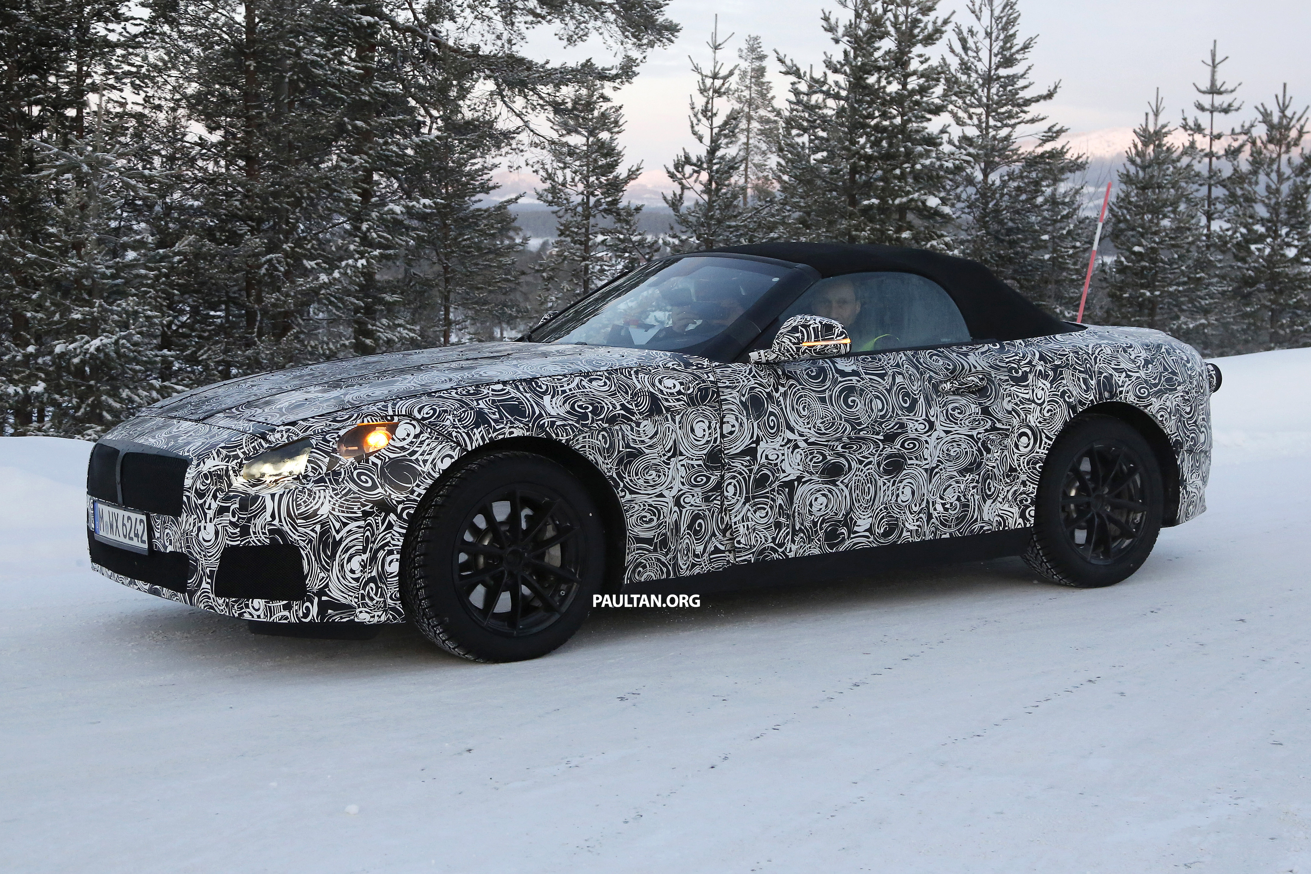 """SPYSHOTS: BMW """"Z5"""" to spawn next Toyota Supra? Image 431459"""