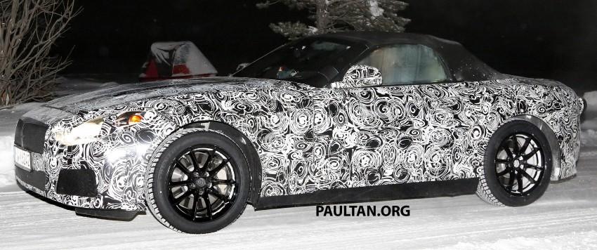 """SPYSHOTS: BMW """"Z5"""" to spawn next Toyota Supra? Image #430924"""