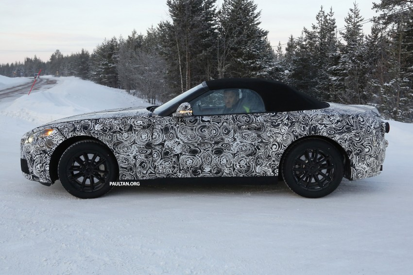 "SPYSHOTS: BMW ""Z5"" to spawn next Toyota Supra? Image #431458"