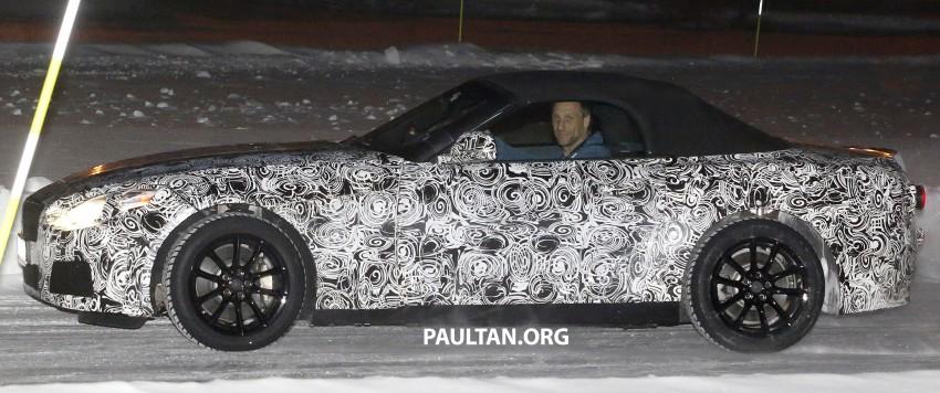 """SPYSHOTS: BMW """"Z5"""" to spawn next Toyota Supra? Image #430925"""