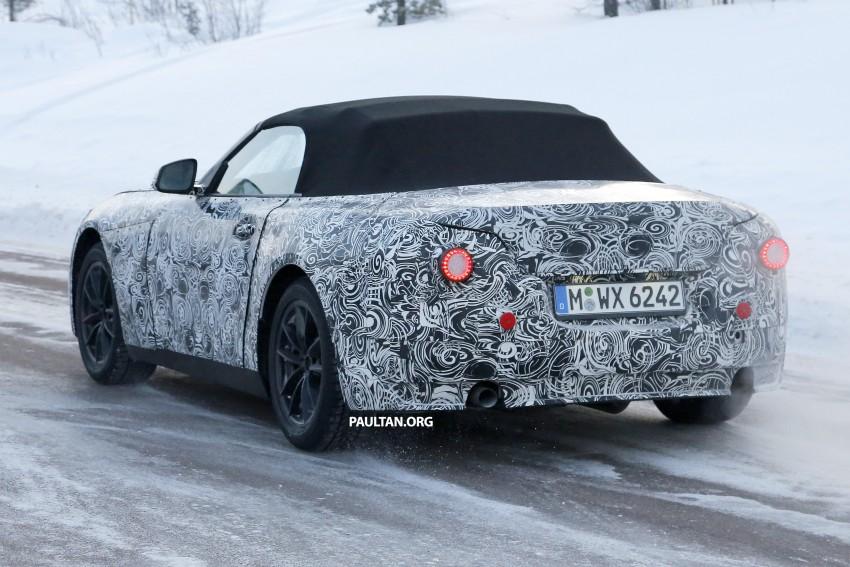 """SPYSHOTS: BMW """"Z5"""" to spawn next Toyota Supra? Image #431456"""