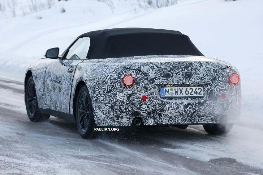 """SPYSHOTS: BMW """"Z5"""" to spawn next Toyota Supra? Image #431455"""
