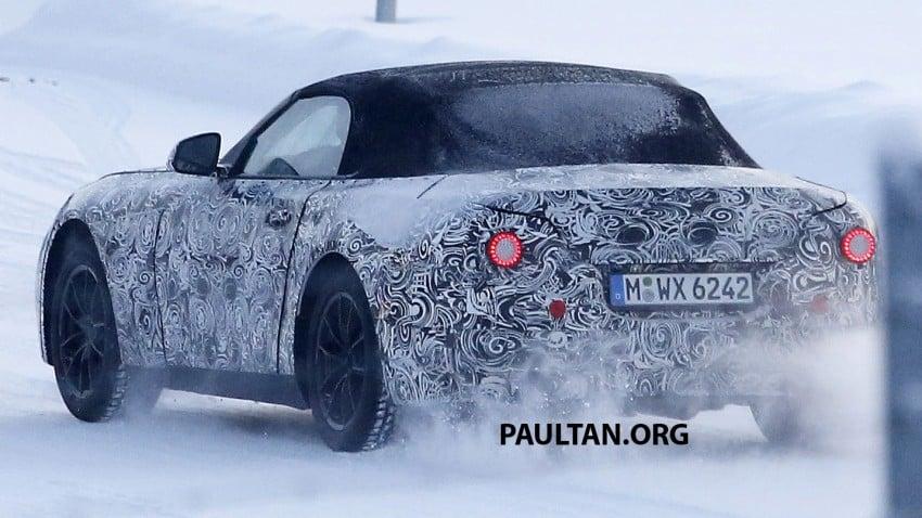 """SPYSHOTS: BMW """"Z5"""" to spawn next Toyota Supra? Image #430929"""