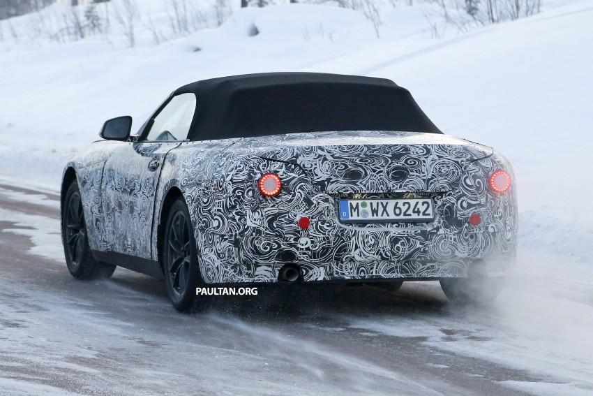 """SPYSHOTS: BMW """"Z5"""" to spawn next Toyota Supra? Image #431454"""