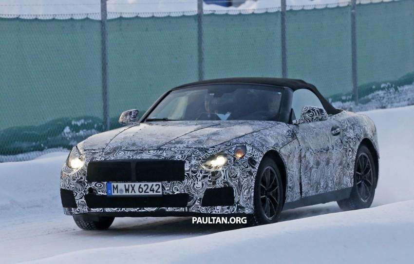 """SPYSHOTS: BMW """"Z5"""" to spawn next Toyota Supra? Image #431453"""