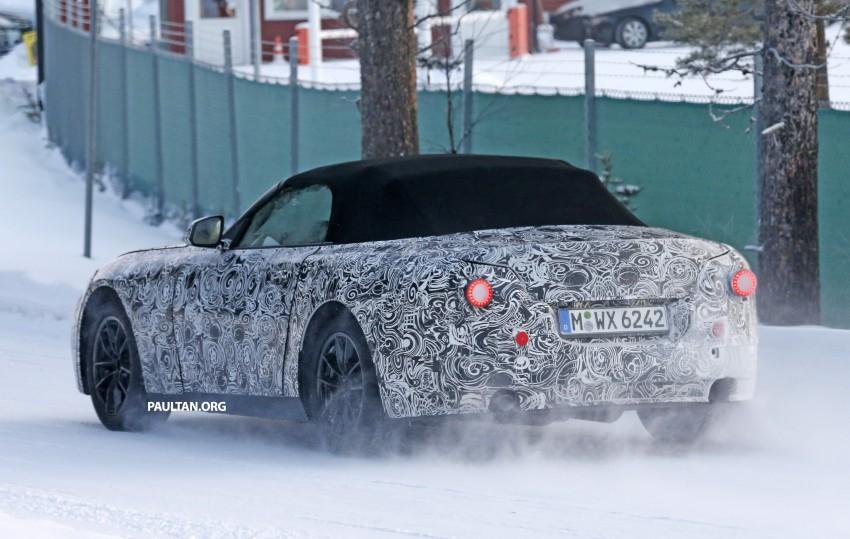 """SPYSHOTS: BMW """"Z5"""" to spawn next Toyota Supra? Image #431443"""
