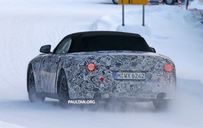 "SPYSHOTS: BMW ""Z5"" to spawn next Toyota Supra? Image #431440"