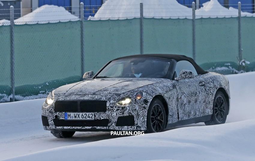"""SPYSHOTS: BMW """"Z5"""" to spawn next Toyota Supra? Image #431452"""