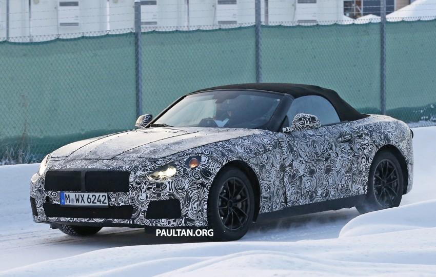 """SPYSHOTS: BMW """"Z5"""" to spawn next Toyota Supra? Image #431451"""