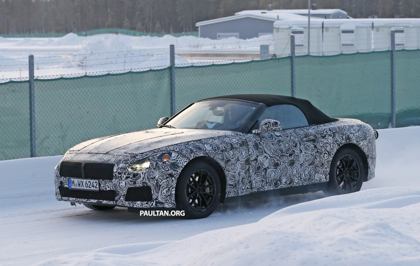 "SPYSHOTS: BMW ""Z5"" to spawn next Toyota Supra? Image #431450"