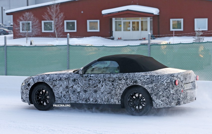 "SPYSHOTS: BMW ""Z5"" to spawn next Toyota Supra? Image #431446"