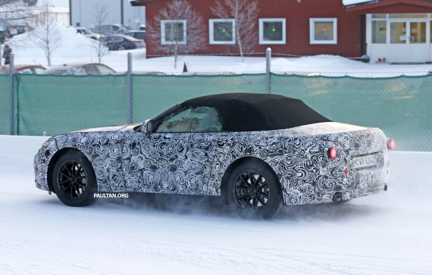 "SPYSHOTS: BMW ""Z5"" to spawn next Toyota Supra? Image #431445"