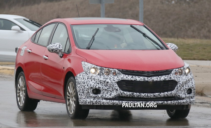 SPIED: Chevrolet Cruze Hybrid sighted running trials Image #431057