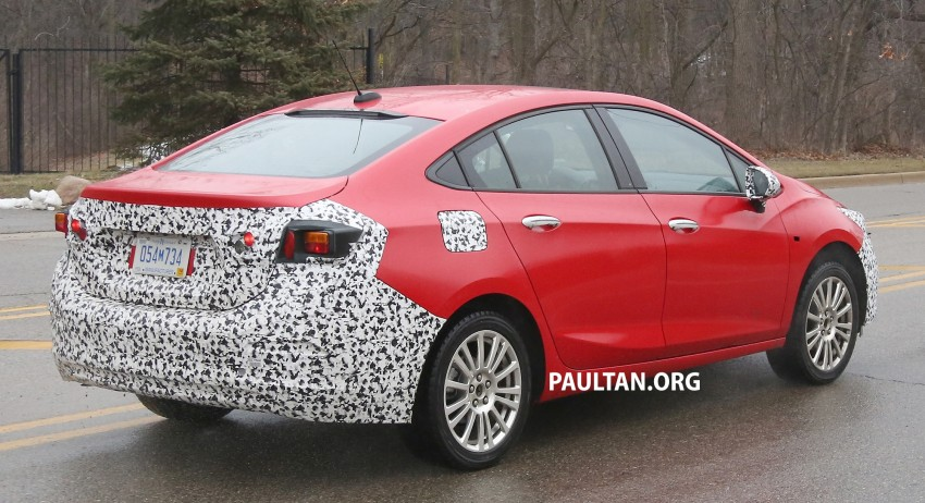 SPIED: Chevrolet Cruze Hybrid sighted running trials Image #431062