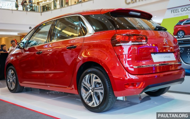 Citroen C4 Picasso THP 165 launched in Malaysia – RM149k