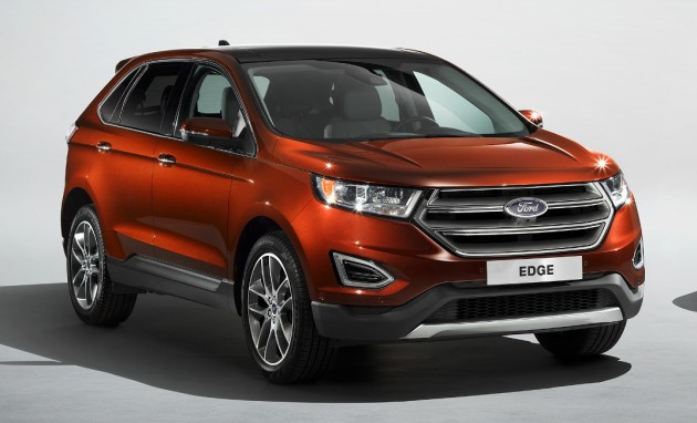 ford edge now in uk first rhd market for the suv. Black Bedroom Furniture Sets. Home Design Ideas