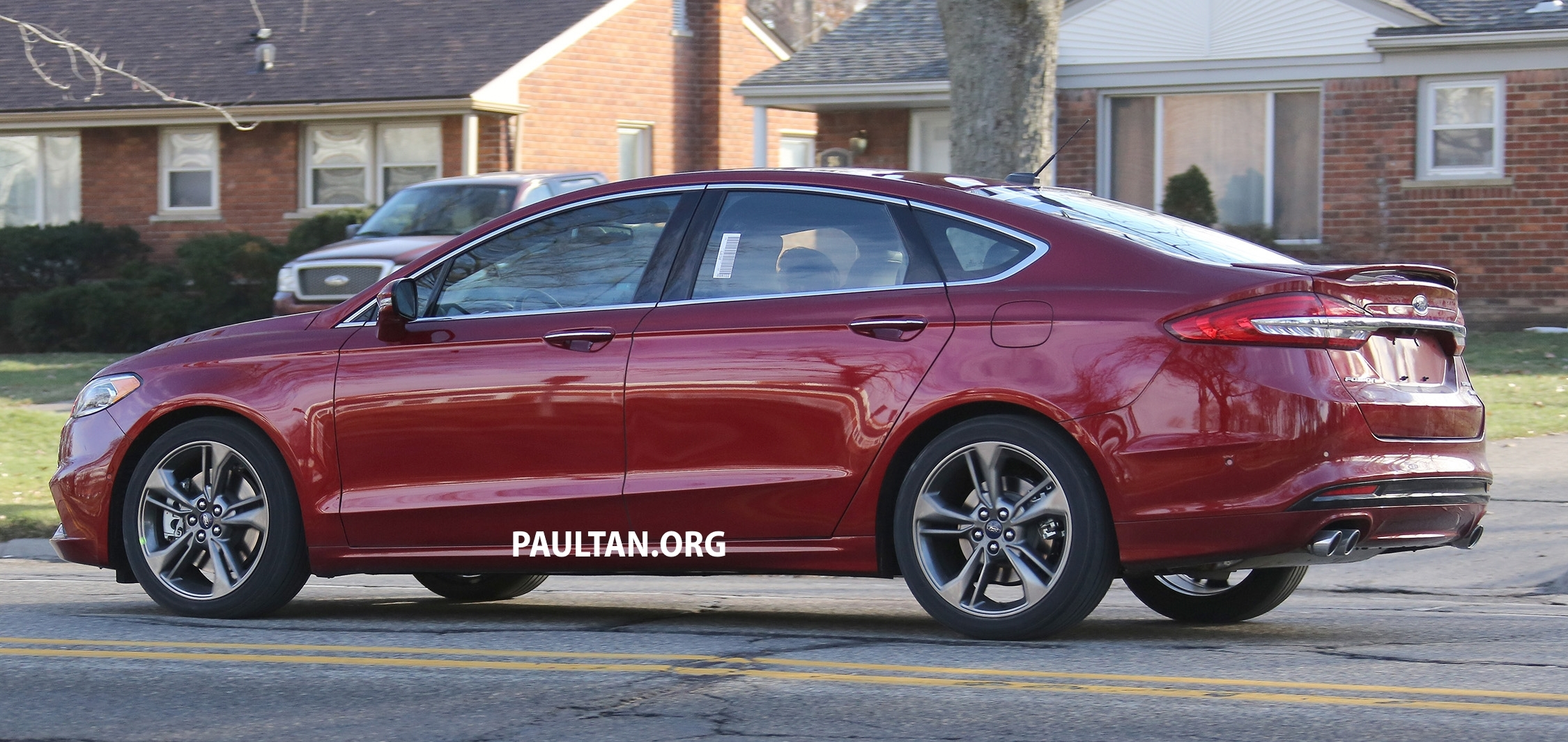 SPIED: CD391 Ford Mondeo facelift, fully undisguised Image ...
